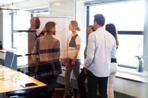 Besluitvorming tijdens teamoverleg